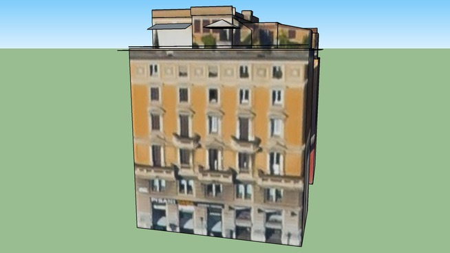 Building in Rome, Italy
