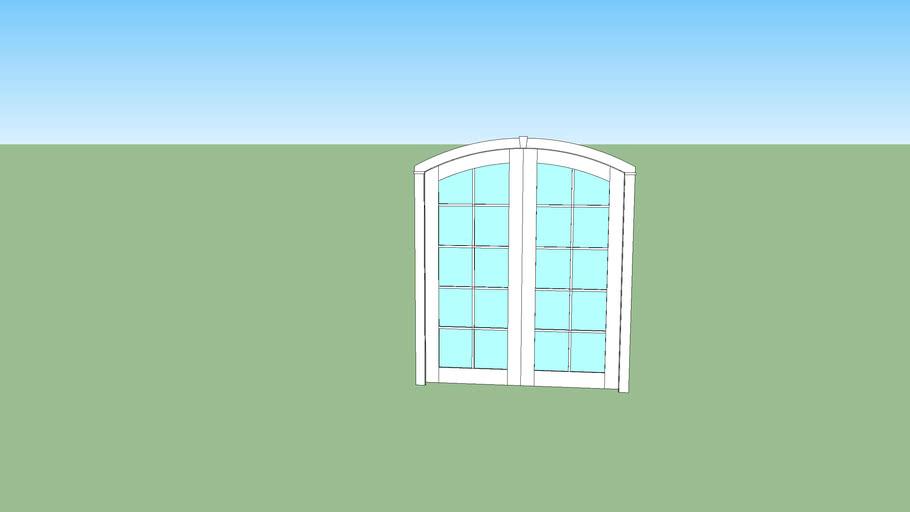 custom arch door