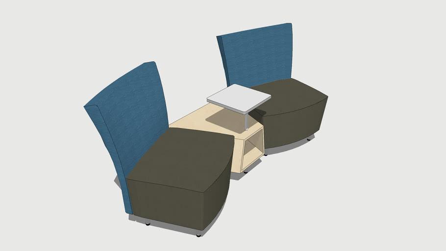 Arcadia Serafina Modular Chair - Focus Room Furniture