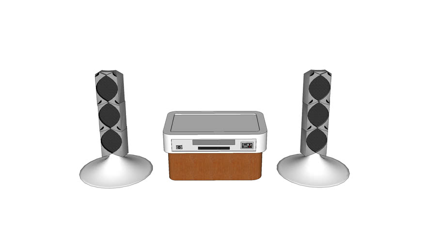 Sound system speakers