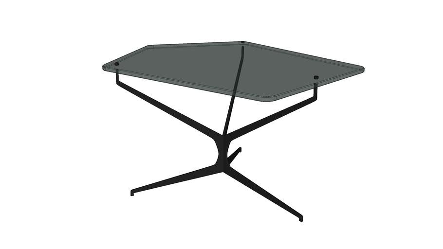 84701 Coffee Table Dark Space 68x70