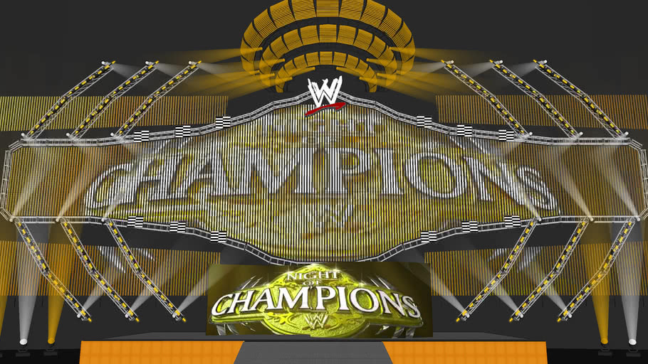 WWE NIGHT OF CHAMPIONS 2009 CONCEPT