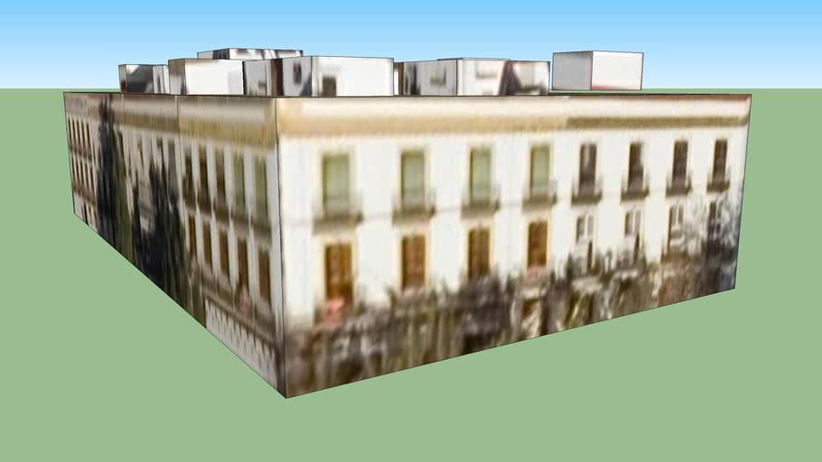 Edificio en puerta de la carne, Sevilla, España