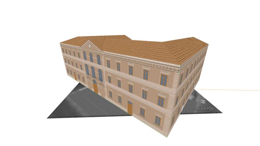 Palazzo municipiale degli Uffici di Locri o Palazzo di Città (Revisionato)