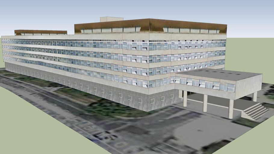 Gradsko Poglavarstvo Trg Stjepana Radica 1 3d Warehouse