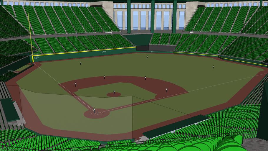 Concept Retro Style Ballpark