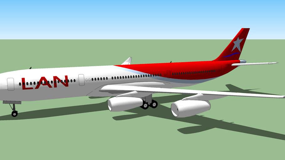 LATAM Airlines Airbus A340-300.