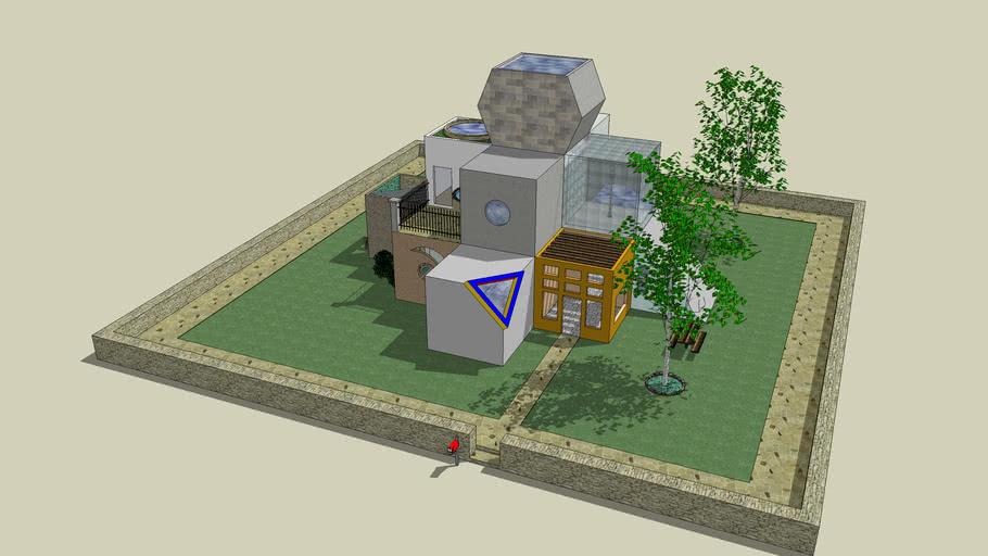 A Cubist's Dream Home?