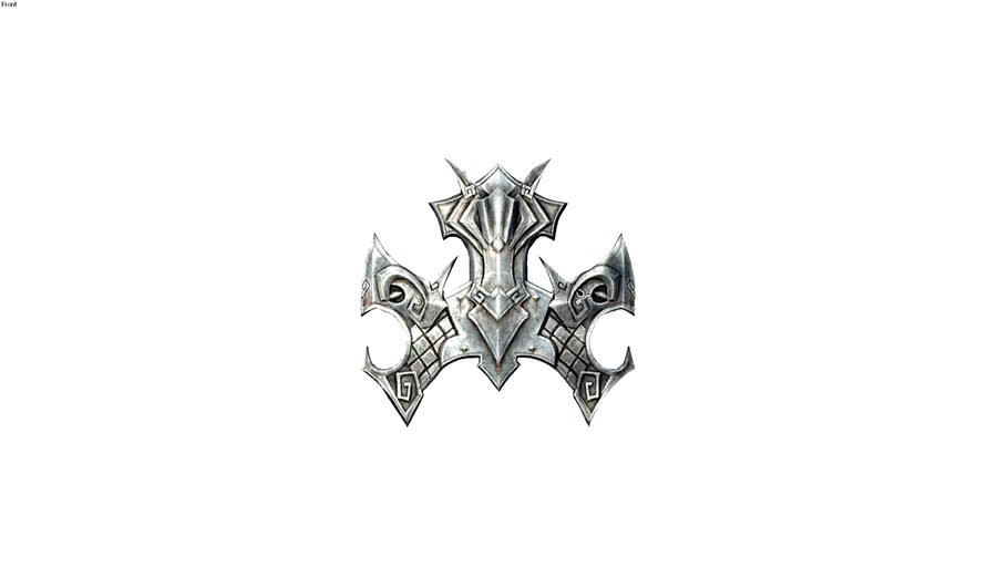 emblême bouclier nordique Skyrim