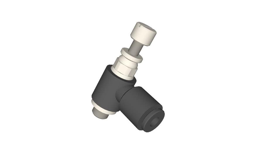 Régleur de débit miniature diamètre 3 - M5x0,8