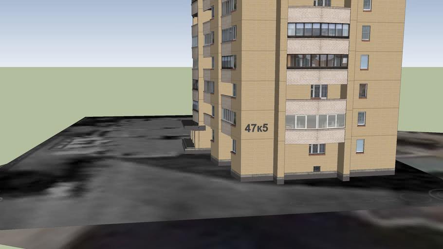 16-ти этажный дом