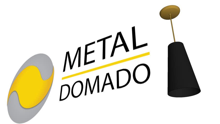 PENDENTE MONTE CARLO 5466 - METAL DOMADO ILUMINAÇÃO