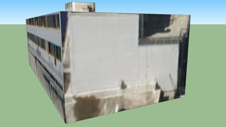 Building in Egaleo(pisw apo O.T.E), Greece