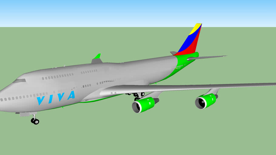 "VIVA Airlines 747-415 ""Marla"" (2013)"