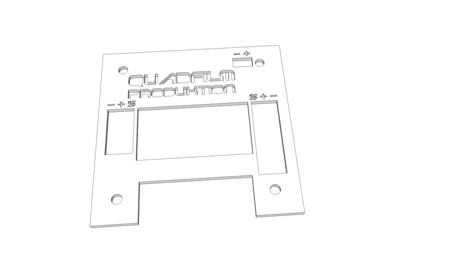 Cover for the Hobbyking KK2.0 LCD Controller