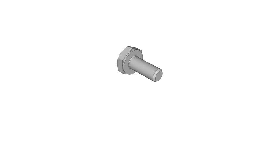 11080022 Hexagon head bolts DIN 933 M2x5