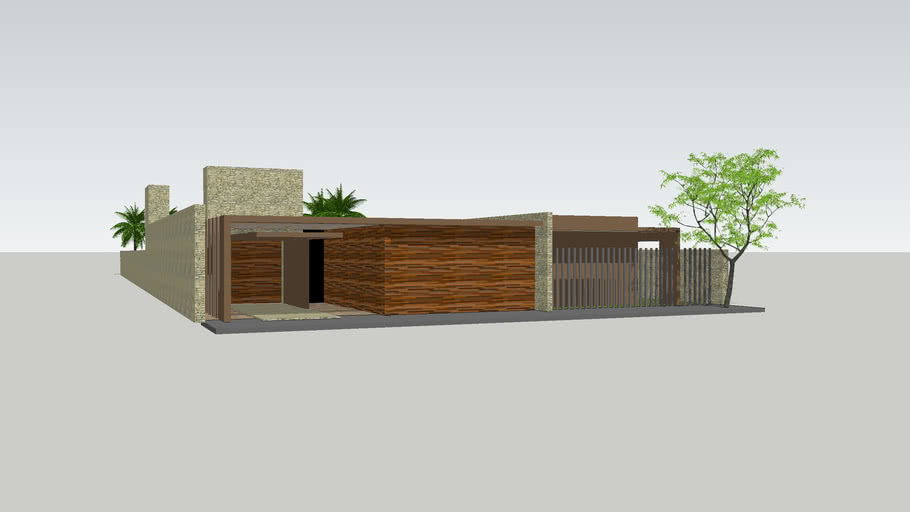 minimalist home in concordia