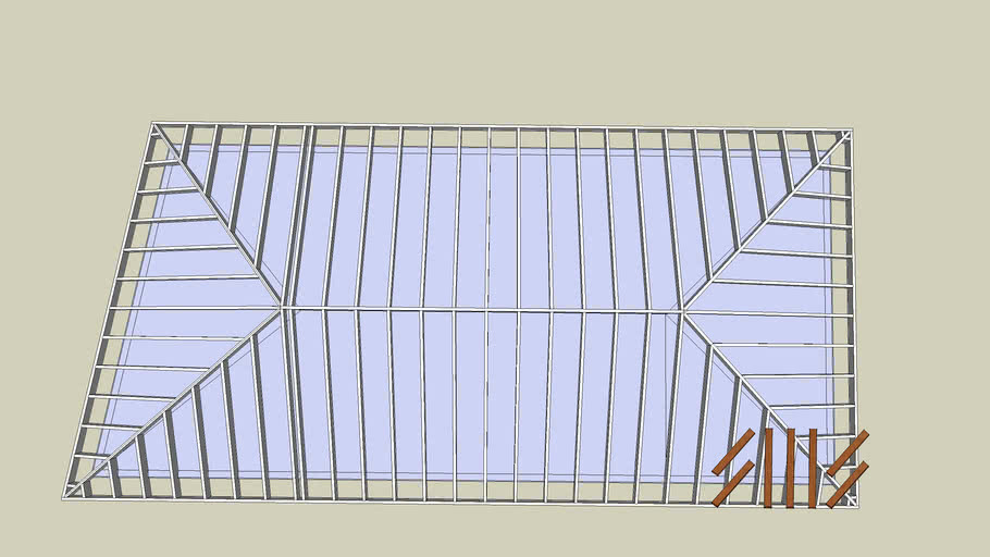 Asymmetrical Hip Roof 3d Warehouse