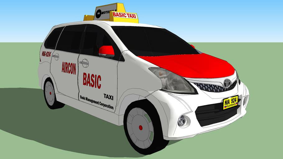 Toyota Avanza Basic Taxi