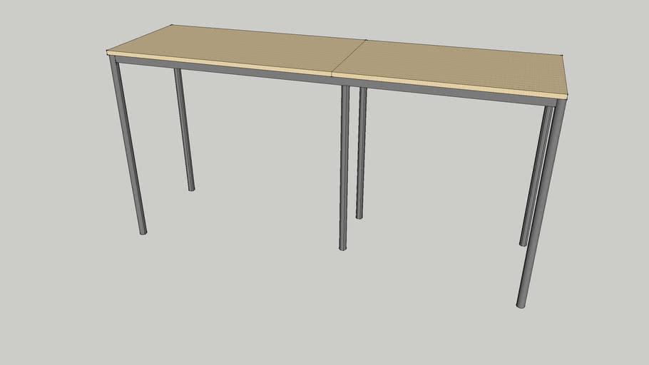 EFG 3D Bord 2200x620x1085