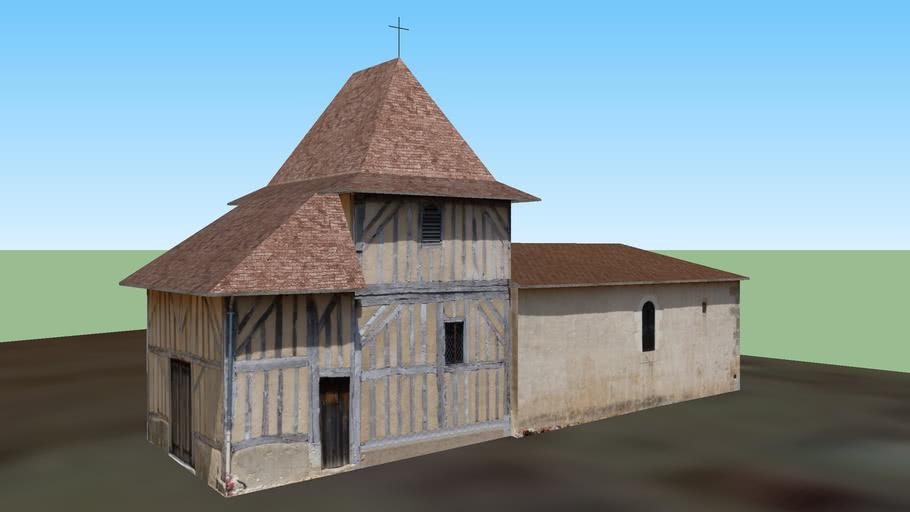 Église Saint Sauveur. SAINT-SAUVEUR-LALANDE 24.