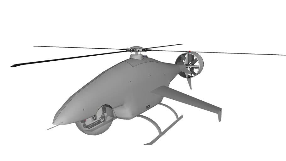 Shark Eye UAV Helicopter