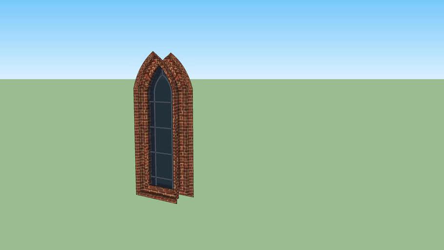 church window / okno kościelne
