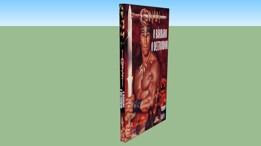 DVD Conan o Bárbaro