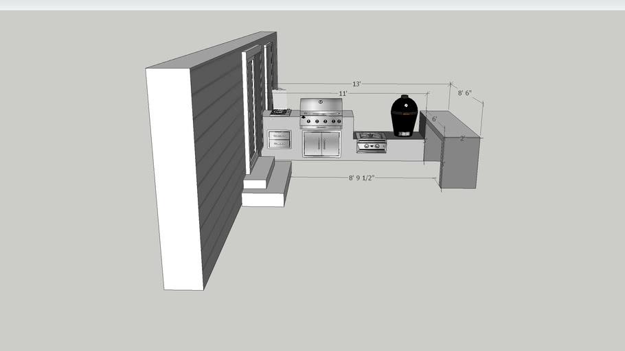 PL Outdoor Kitchen