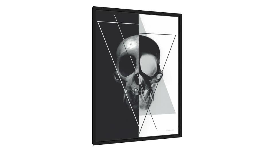 Quadro Skull - Galeria9, por Haron Alves