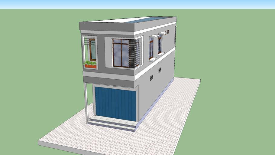 Ruko Hook 2 Lantai 4 X 18 Mtr 3d Warehouse