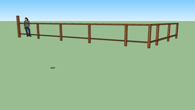 two rail fence