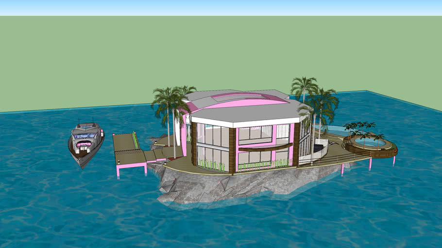 villa de luxe avec océan