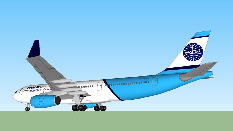 Pan European Airbus A330-200 G-PCEA (Ex. Decknar airlines)
