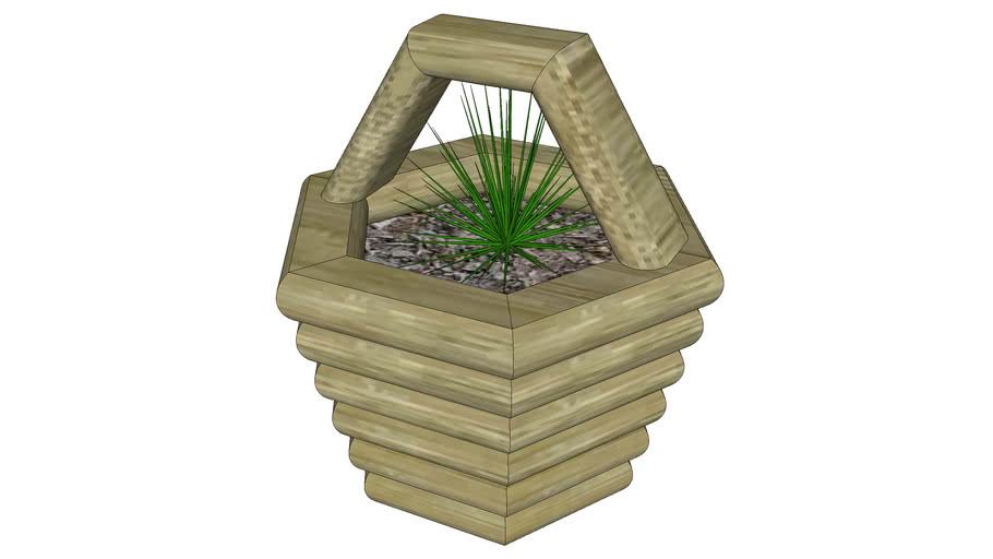 Timber Yard Basket