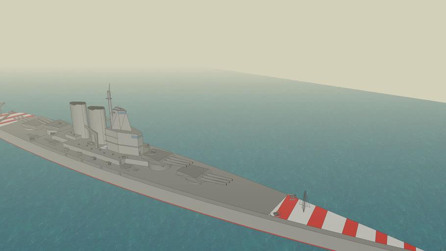 My first battleship