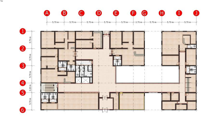 Floor Plan Clinic Architectural Design 4 3d Warehouse