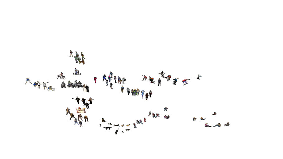 2D People collection