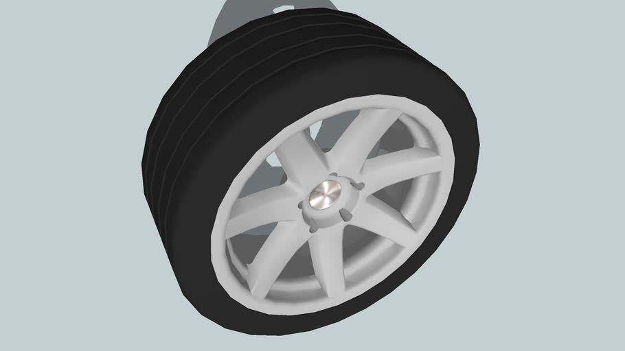 Wheel Dezent 17