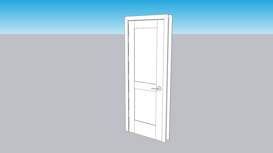 """28"""" x 80"""" interior door - shaker style"""