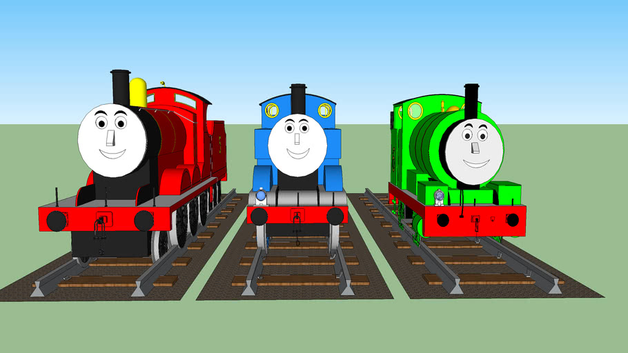 Thomas James And Percy 3d Warehouse