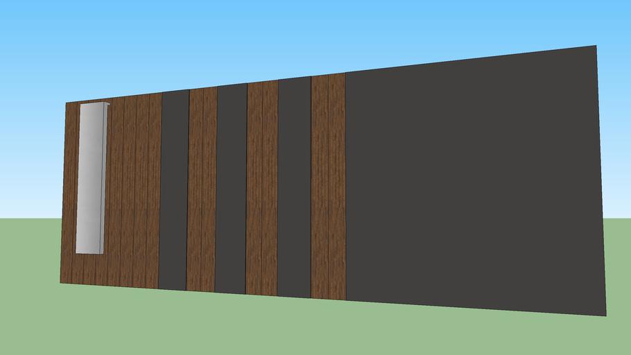 Modern Sliding Gate | 3D Warehouse