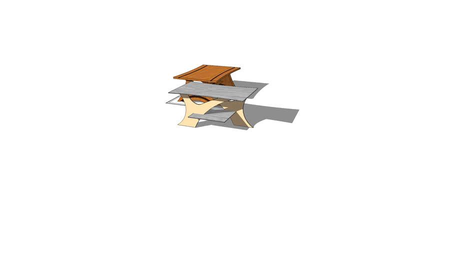 coffee table lasercut