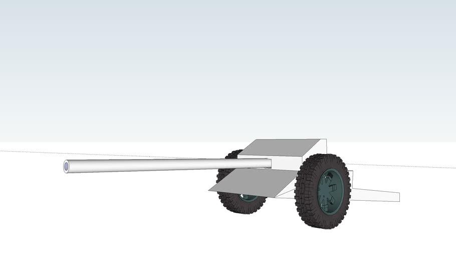 Anti-tank gun 75mm A1