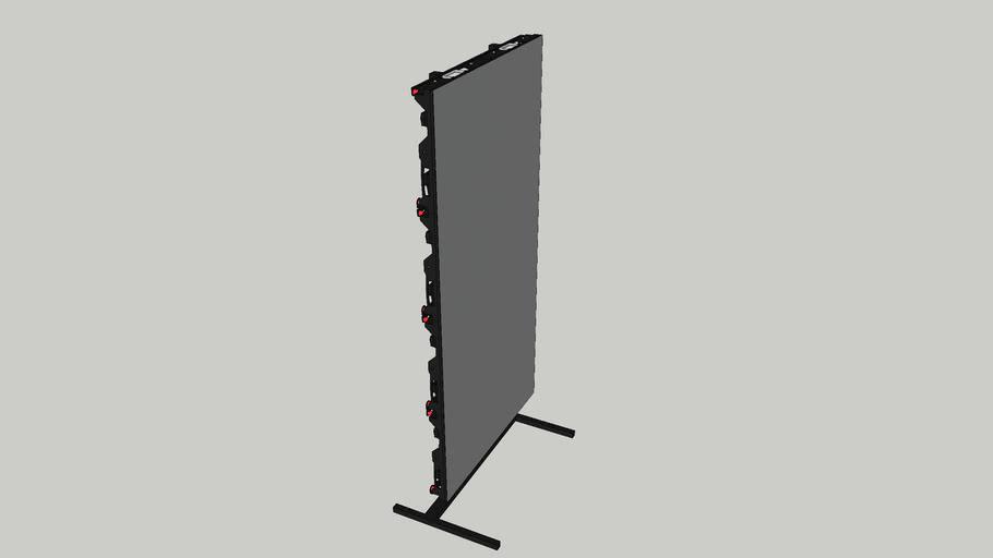 Mounted LED Screen Wall 1x2m