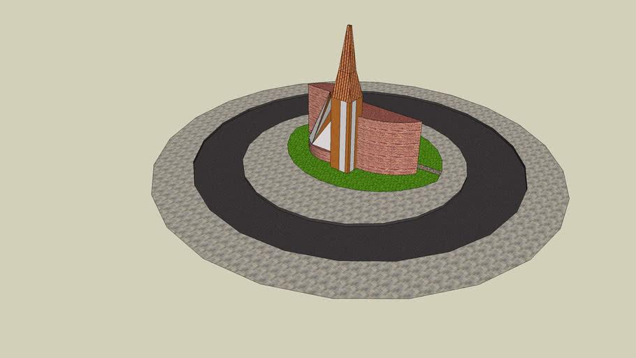 Moderne kerk 001
