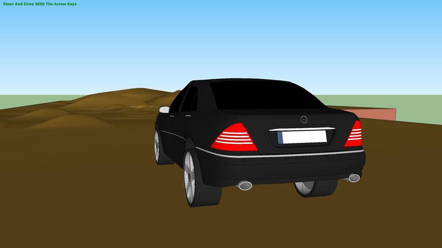 Mercedes-Benz S Class 4-Matic (SketchyPhysics)