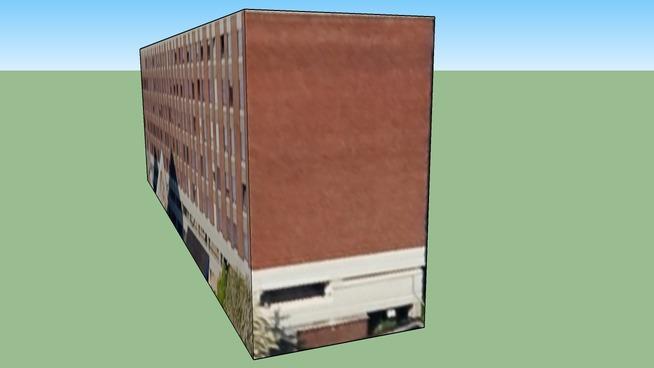 Dublin 18爱尔兰的建筑模型