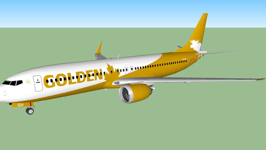Golden Moose Airways 737 MAX 8 (2017)