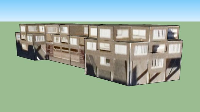 Edificio en hexagonos